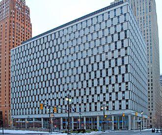 National Bank of Detroit - Former NBD headquarters (1959–1995)
