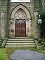 Nazareth Unitarian Church, Padiham, Doorway - geograph.org.uk - 755011.jpg