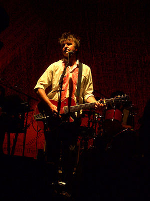 Neil Finn - Finn playing at Calvin Theatre, August 2007