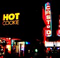 "Neon signs, ""HOT COOKIE', ""CASTRO"" (Castro Theatre, San Francisco - 2006).jpg"