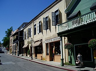Nevada City, California - Image: Nevada City CA95959c