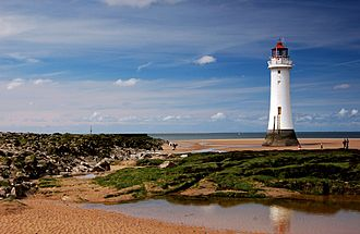 New Brighton, Merseyside - New Brighton Lighthouse