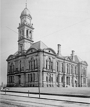 Theophilus P. Chandler Jr. - New Castle County Court House, Wilmington, Delaware (1879-80, demolished 1915)