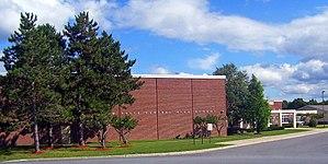 New Paltz High School - New Paltz Central High School during 2007.