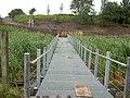 New footbridge into reclaimed land-by-David-Quinn.jpg
