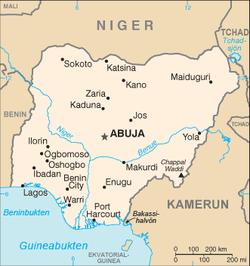 Nigeria och iran forst med trupperna