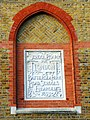 Nicely carved sign on the old Battersea Park Road Schools - geograph.org.uk - 1577578.jpg
