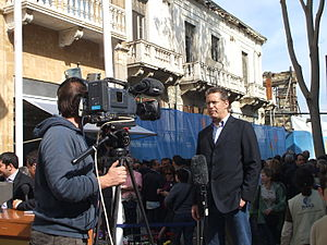 Correspondent - Image: Nicosia 3 April 2008 06