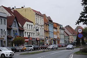 Niemodlin - Historical tenements and architecture in Niemodlin