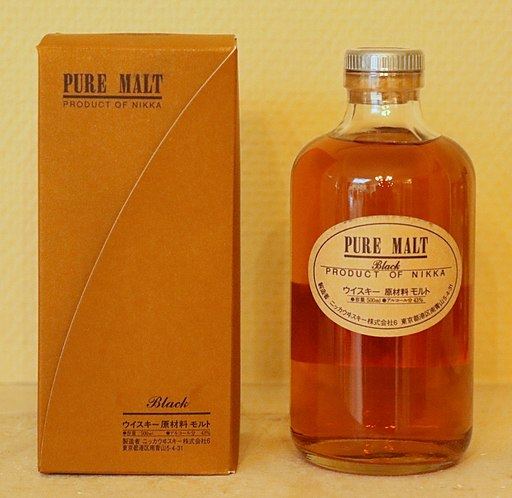 Nikka Whisky Pure Malt Black