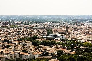 Nîmes Prefecture of Gard, Occitanie, France