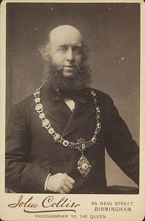 John Benjamin Stone - John Benjamin Stone with a livery collar.