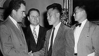 No Kum-sok - No meeting with Vice President Richard Nixon at the U.S. Capitol in May 1954.
