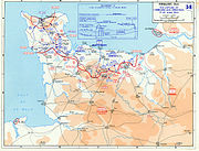 The Normandy Campaign, 13 June to 30 June 1944.