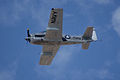 North American T-28C Trojan Sherry Berry Fourth Pass 03 TICO 13March2010 (14596064171).jpg