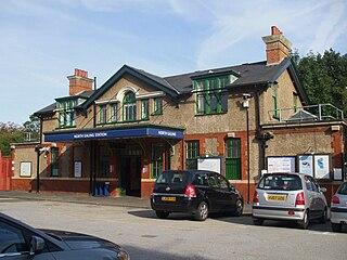 North Ealing tube station London Underground station