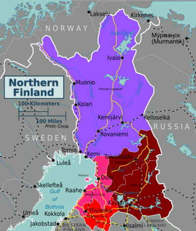 Most Popular Countries >> Northern Finland – Travel guide at Wikivoyage