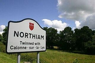 Northiam village in the United Kingdom