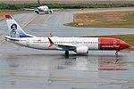 Norwegian, EI-FYG, Boeing 737-8 MAX (42249499145).jpg