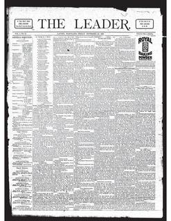 <i>Laurel Leader</i> newspaper in Laurel, Maryland