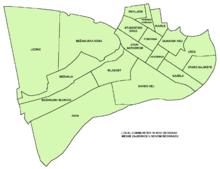 novi beograd mapa grada Paviljoni   Wikipedia novi beograd mapa grada