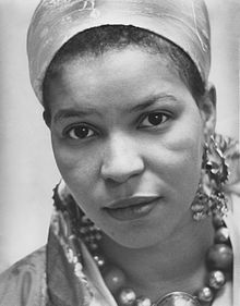 Ntozake Shange, Reid Lecture, Women Issues Luncheon, Women's Center, November 1978 Crisco edit.jpg