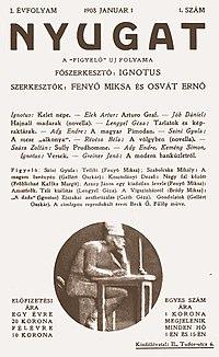 Nyugat1908-1