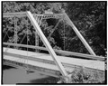 OBLIQUE VIEW OF EAST PORTAL - North Fork Bridge, Spanning North Fork of Licking River, Milford, Bracken County, KY HAER KY,12-MILF.V,1-7.tif