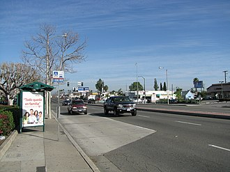 Orange County Transportation Authority - Image: OCTA Bus Stop 02