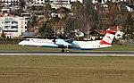 OE-LGJ DHC-8-402Q Austrian Innsbruck 11-12-15 (1) (23564535489).jpg