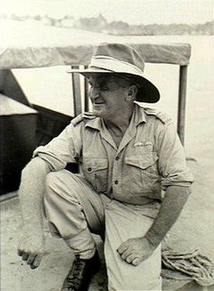 Jerry Pentland - Squadron Leader Pentland in New Guinea, c. 1943