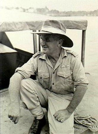 Jerry Pentland - Squadron Leader Pentland in New Guinea, c. 1943