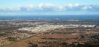 Malaga, Western Australia - Image: OIC aerial malaga