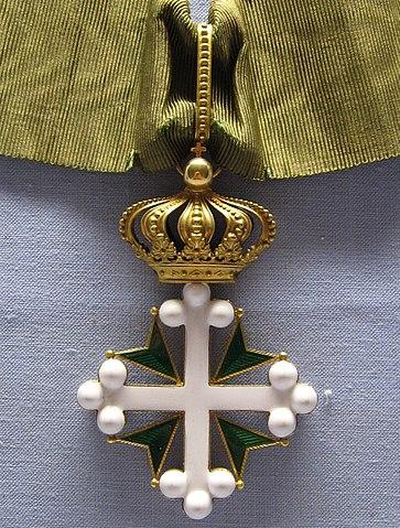 Орден Большого Креста Святых Маврикия и Лазаря