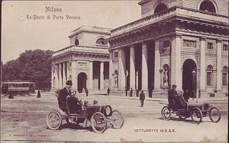 Porta Venezia - Porta Venezia in 1906