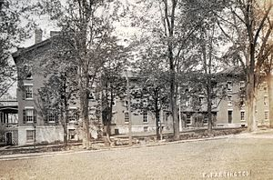 Oakwood Friends School - Circa 1910