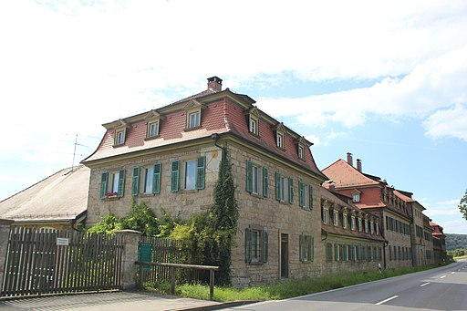 Obere Saline (Straßenseite) in Bad Kissingen