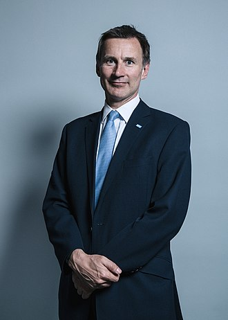 Secretary of State for Foreign and Commonwealth Affairs - Image: Official portrait of Mr Jeremy Hunt