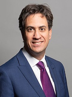 Ed Miliband Former Leader of the Labour Party, MP for Doncaster North