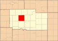 Ogle County Illinois Map Highlighting Mt Morris Township.png