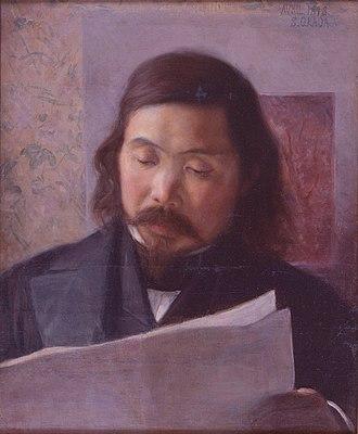 Okada Saburōsuke - Image: Okada Saburosuke Portrait of Jiro Okabe