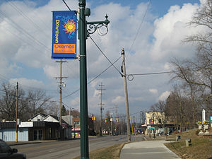 Okemos, Michigan - Four Corners of Okemos, Michigan