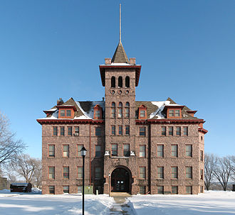 Canton, South Dakota - Old Main