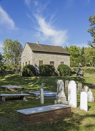Old Chapel (Millwood, Virginia) - Old Chapel, September 2012