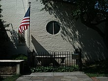 Old Presbyterian Meeting House (Alexandria, VA) - Tomb of the Unknown Revolutionary War Soldier.JPG