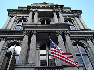 Old City Hall (Boston) - Front façade, October 2006