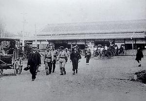 Chiba Station - Chiba Station circa 1900