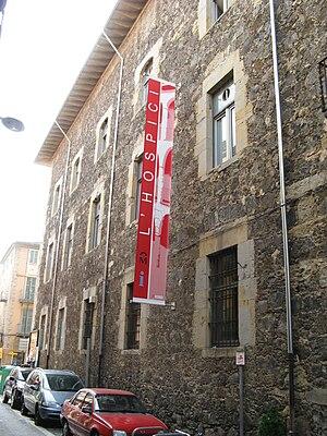 Olot, Catalonia, L'Hospici outside
