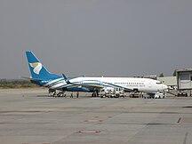 Sân bay quốc tế Kempegowda-Các hãng hàng không và các tuyến điểm-Oman Air aircraft at Bengaluru International Airport