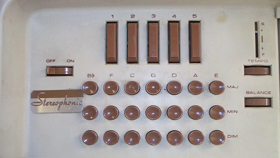 Optigan chord buttons